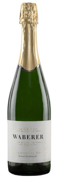 Flasche Chardonnay Brut Winzersekt